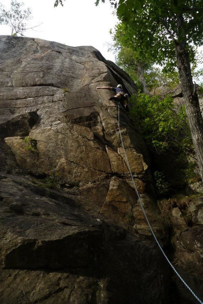 Rock Climbing Photo: Ethan on Lonesome Dove