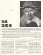 Rock Climbing Photo: Dave Slinger article in Off Belay Aug 77 PAGE 1