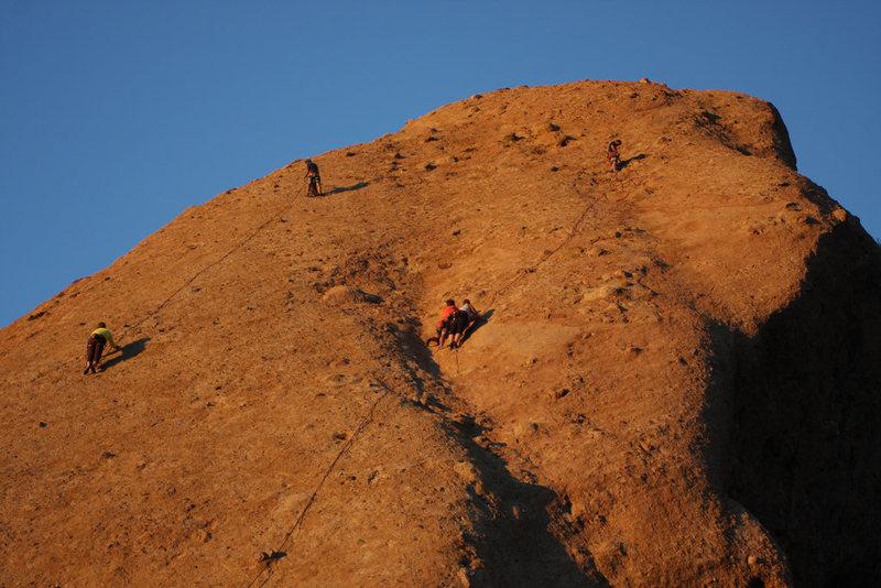Rock Climbing Photo: Party Time!