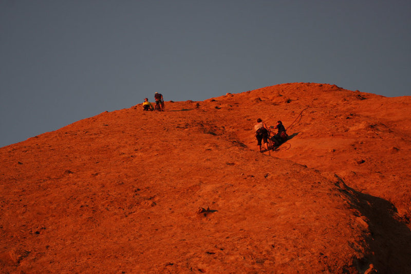 Chilling on Mars.