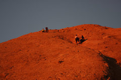 Rock Climbing Photo: Chilling on Mars.
