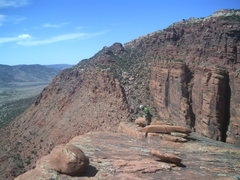 Rock Climbing Photo: Large summit.  You can see your gear at the start ...