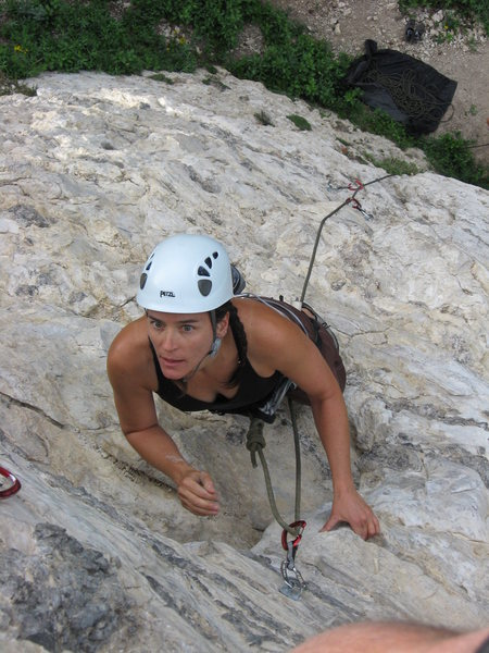 Rock Climbing Photo: Smart Girl, Hellgate