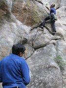 Rock Climbing Photo: Mine Shaft, Boulder Canyon