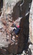 Rock Climbing Photo: Kitt on Watching in Silence.