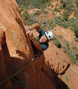 Rock Climbing Photo: bouldery finish