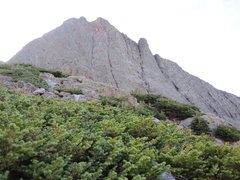Rock Climbing Photo: The ridge from the east.