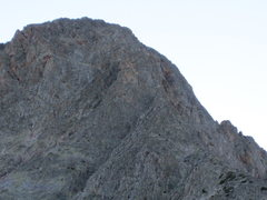 Rock Climbing Photo: The upper half of the ridge.