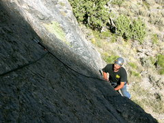 "Rock Climbing Photo: First pitch of ""Eye of the Needle"""