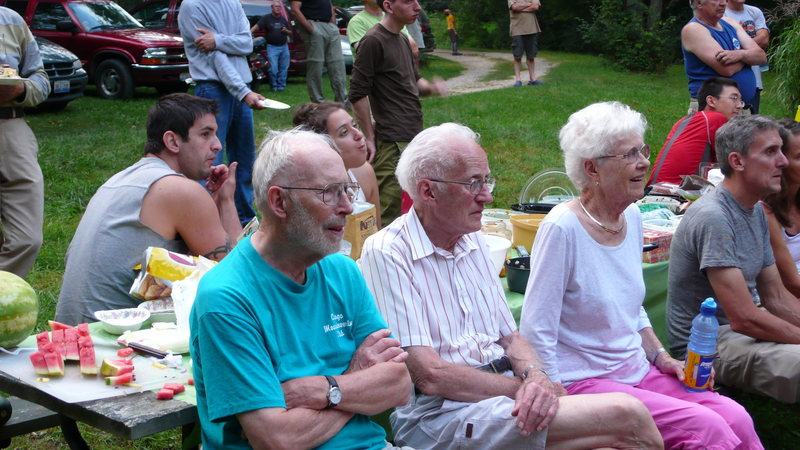 Peter Folkens, Charly and Peggy Pierce, 2009