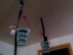 Rock Climbing Photo: Here's mine with those camstrap style tiedowns.  E...