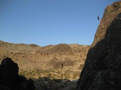 Rock Climbing Photo: rappelling down Jack Be Nimble
