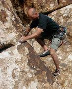 Rock Climbing Photo: Slabtastic climbing near the Corral.