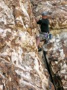 "Rock Climbing Photo: Mark on ""Moonshine"""