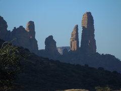 Rock Climbing Photo: Koraro Spires