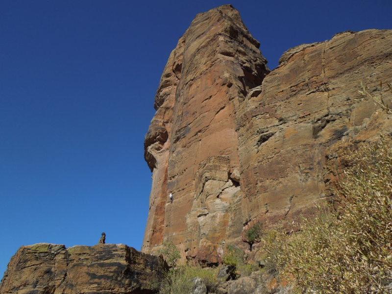 Rock Climbing Photo: E9