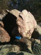 Rock Climbing Photo: A large boulder with two nice looking projects on ...