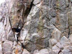 Rock Climbing Photo: Kevin Landolt on Nighthawk.