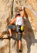 Rock Climbing Photo: Excellent jamming.