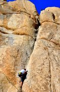 Rock Climbing Photo: Excellent jamming 2.