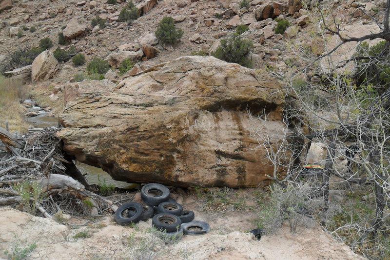 Rubber Rock.