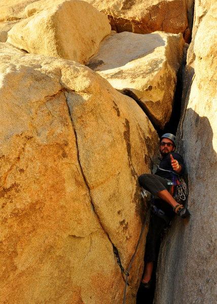 Rock Climbing Photo: Toss the #4!