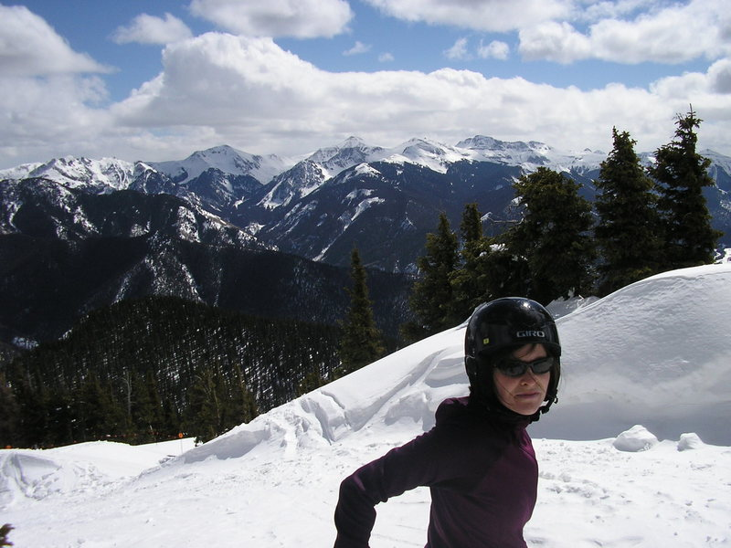 Rock Climbing Photo: Near Alberta Peak, Wolf Creek