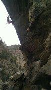 Rock Climbing Photo: Hanging Judge.