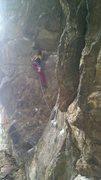 Rock Climbing Photo: Hanging Judge