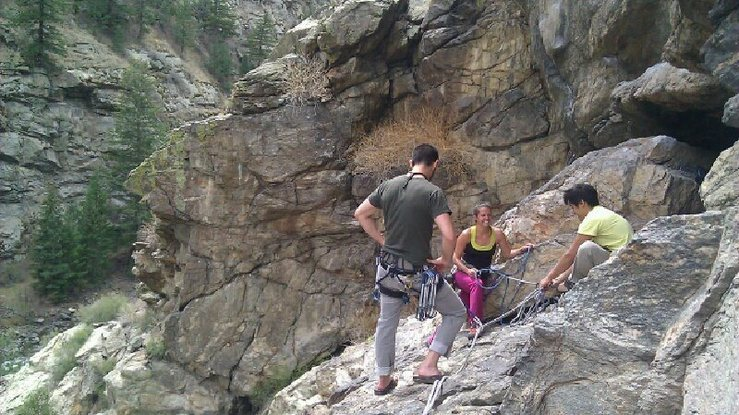 Rock Climbing Photo: Friends :)
