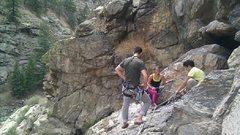 Rock Climbing Photo: Friends :)