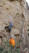 Rock Climbing Photo: Eric Sjoden belayed by Mike Bankoff on Ewtopia.
