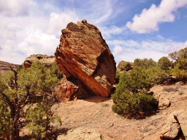 Rock Climbing Photo: Grandmaster Boulder from the southeast.
