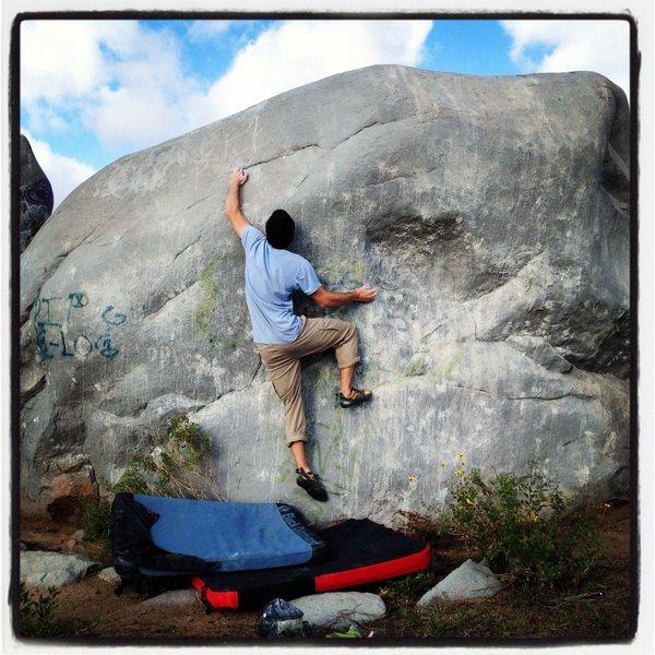 Rock Climbing Photo: Ghetto Bouldering