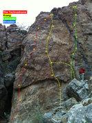 Rock Climbing Photo: Beta pic