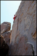 "Rock Climbing Photo: Aerili on ""Boodgie Boy"". Photo by Blitzo..."