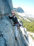 Rock Climbing Photo: A young mudfalcon Tuolumne inhabitant, sporting th...