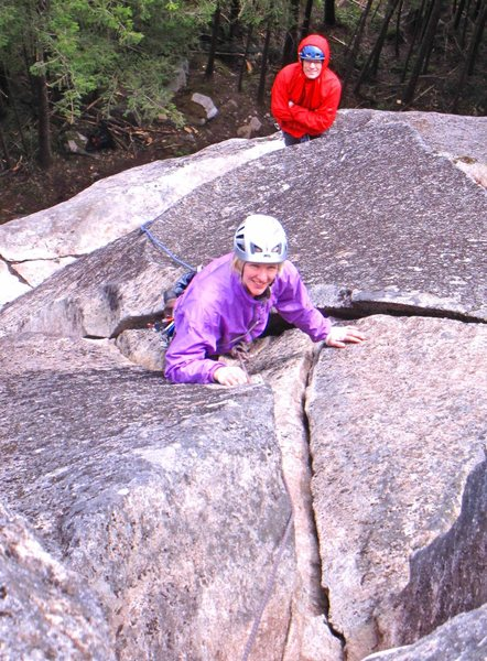 Carolyn Marquardt below the slot on A group of mysteries of Frenchwoman (5.8+).