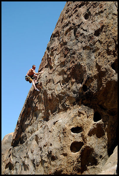 "Rock Climbing Photo: Myles Moser on ""Spicy Pizza"". Photo by B..."