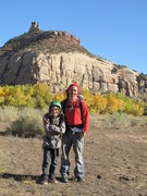 Rock Climbing Photo: another great time with my son