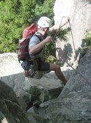 Rock Climbing Photo: Ship Rock in Boone NC
