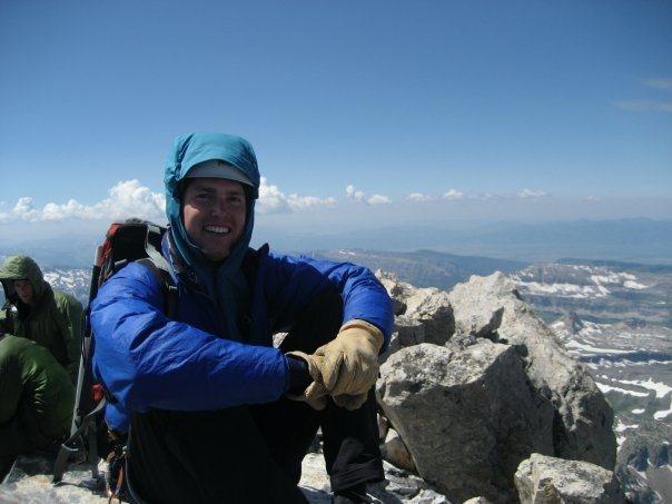 summit of the Grand Teton