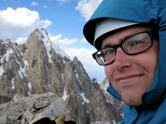 Rock Climbing Photo: some early season mountaineering on the Middle Tet...