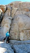 Rock Climbing Photo: at the city on parking lot rock
