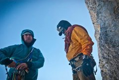 Rock Climbing Photo: having fun in the tetons