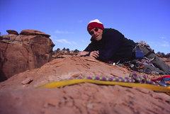 Rock Climbing Photo: Summit pic, first ascent, Dec 20, 2004