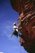 Rock Climbing Photo: Me, pitch 3.