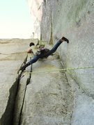 Rock Climbing Photo: splits