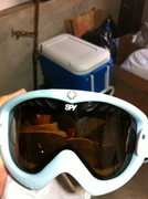 Rock Climbing Photo: Spy snow goggles