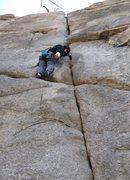 Rock Climbing Photo: Seth on Karl's Crack. Nobody seems to posts pics u...